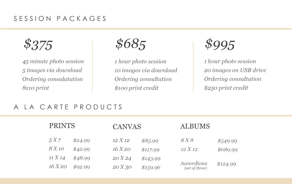 pricing card for wp