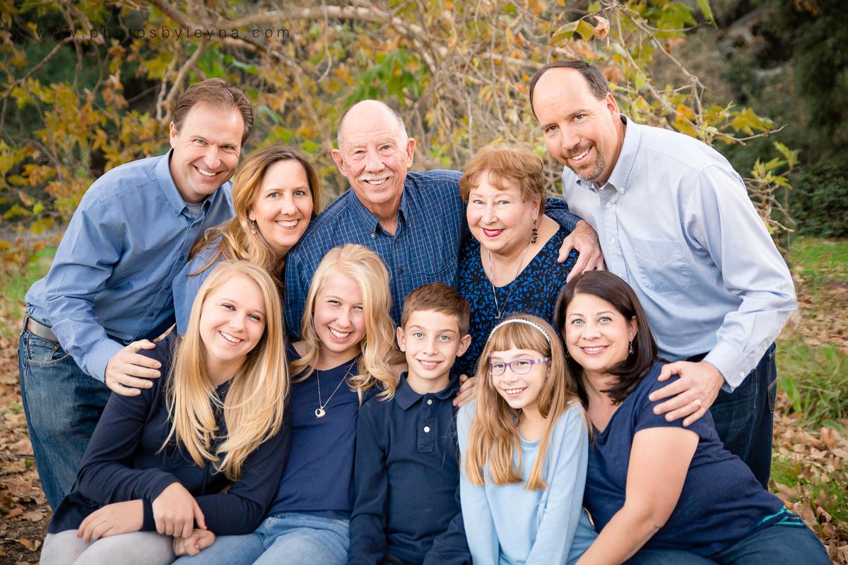 стоит как правильно фотографировать большую семью своей