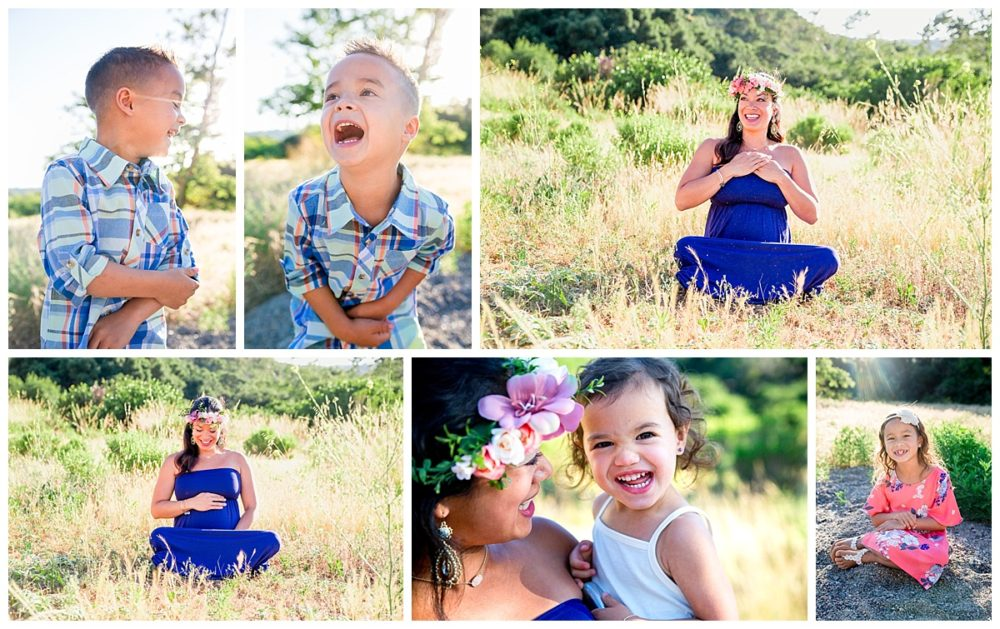 laughing boy, maternity, beautiful mom, happy kids